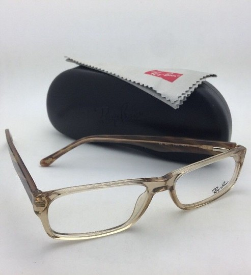 Ray-Ban RAY-BAN Rx-able Eyeglasses RB 5203 2466 55-16 145 Brown Transparent Image 9