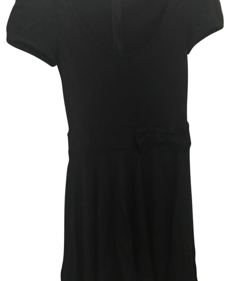 Red Valentino Black With Bow Short Cocktail Dress Size 8 M Tradesy