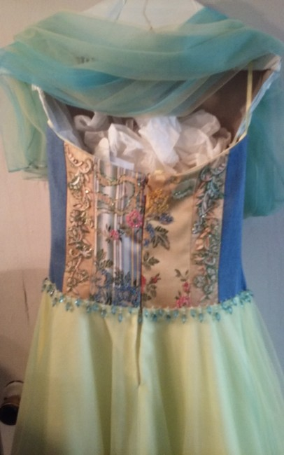 jovani Hand Beaded For Young Lady Some Ribbons Dress