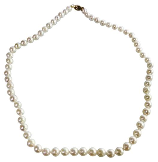 Preload https://img-static.tradesy.com/item/21818512/a-akoya-cultured-pearl-strand-6-6-12-necklace-0-1-540-540.jpg