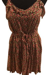 Divided by H&M short dress Floral-Multi-Colorful Sundress Floral on Tradesy