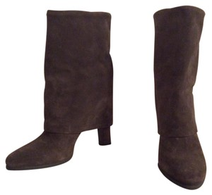 Theory Taupe Boots