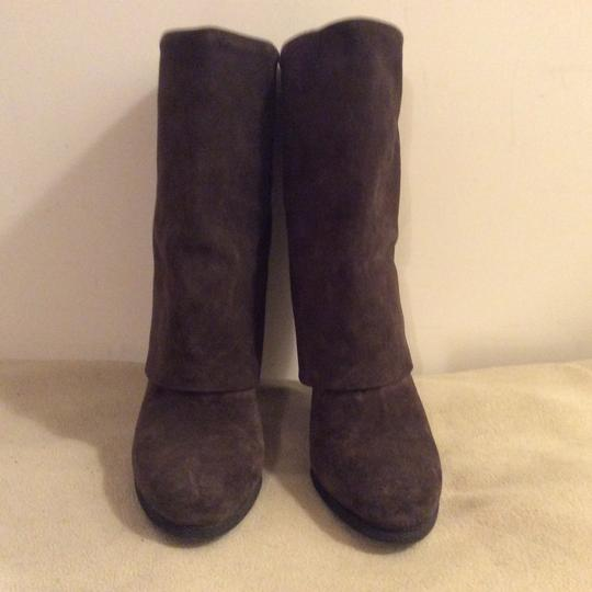 Theory Taupe Boots Image 2