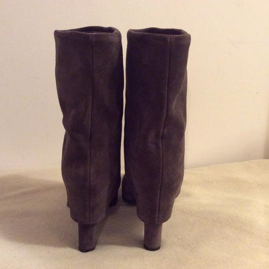 Theory Taupe Boots Image 6