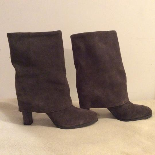 Theory Taupe Boots Image 7