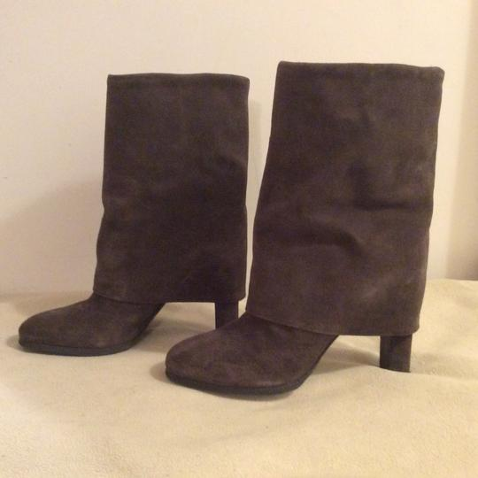 Theory Taupe Boots Image 8