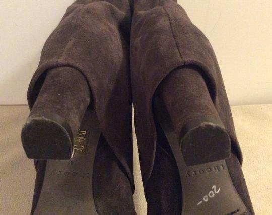 Theory Taupe Boots Image 9