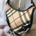 Burberry Nova Pattern Shoulder Bag Image 1