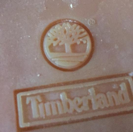Timberland natural with blue trim Boots Image 4