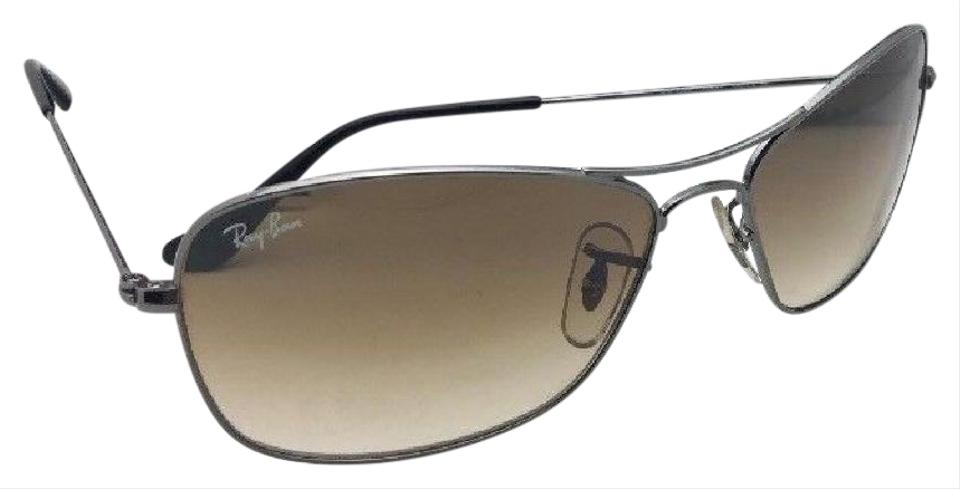 77b1e76922 Ray-Ban Rb 3388 004 51 58-15 135 Gunmetal Aviator W  Brown Gradient ...
