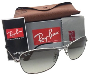 Ray-Ban RAY-BAN Sunglasses RB 3388 003/32 58-15 135 Silver Aviator w/Grey Fade