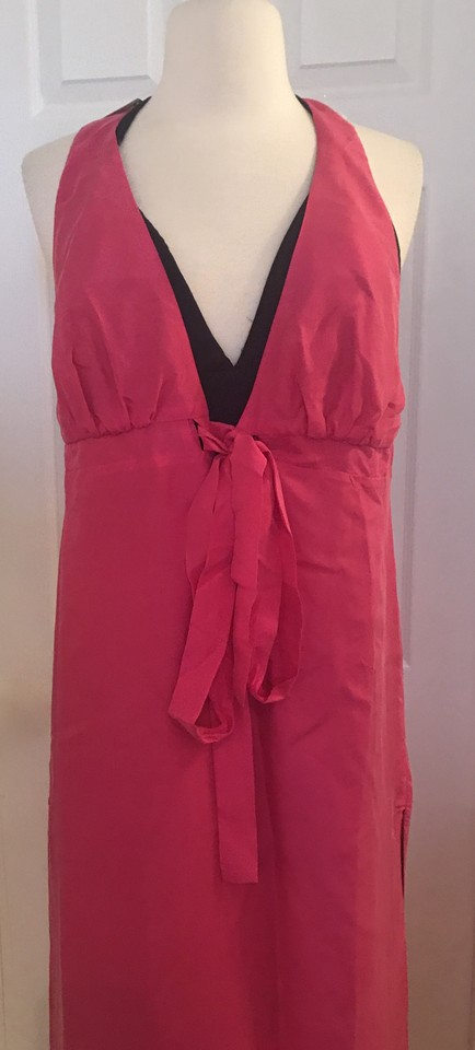 Moulinette Soeurs Pink Rose Black Anthropologie Chania Silk Mid