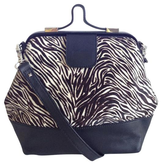 Preload https://img-static.tradesy.com/item/21819246/ann-taylor-animal-print-black-white-leather-cross-body-bag-0-1-540-540.jpg