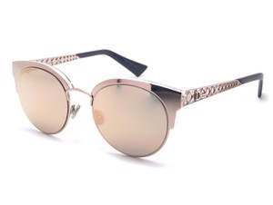 ed8571d08d4f Dior S8r Light Pink (0j Grey Rose Gold Mirrored Lens) Diorama Mini S8r0j  Sunglasses