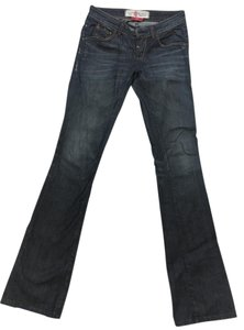 Easy Money Jean Company Boot Cut Jeans-Distressed