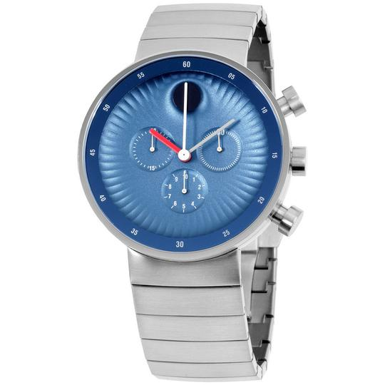 Movado Edge Chronograph Blue Men's Watch Image 0