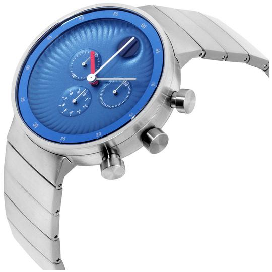 Movado Edge Chronograph Blue Men's Watch Image 1