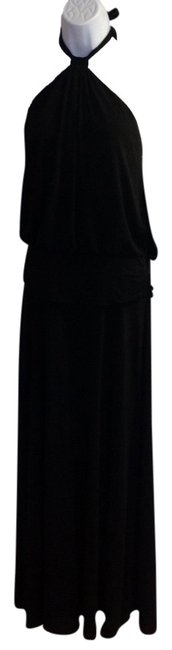 black Maxi Dress by laundry Image 0