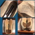 Steve Madden Putty (very light grayish-beige)/ Silver Flats Image 7