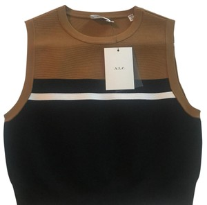 A.L.C. crop top Top black