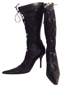 Barocco Collection Black Boots