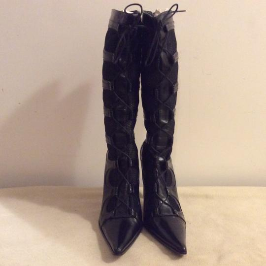 Barocco Collection Black Boots Image 10