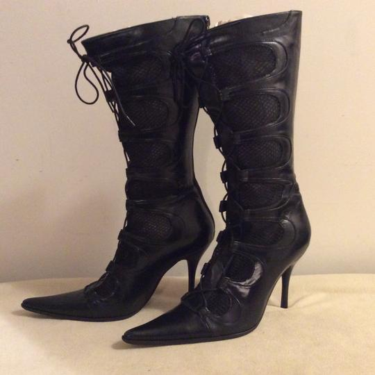 Barocco Collection Black Boots Image 8