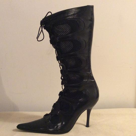 Barocco Collection Black Boots Image 9