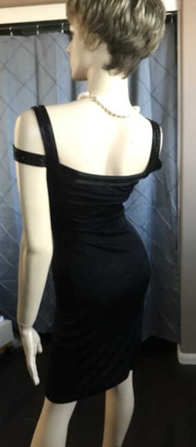 A|X Armani Exchange Beaded Fitted Dress Image 1