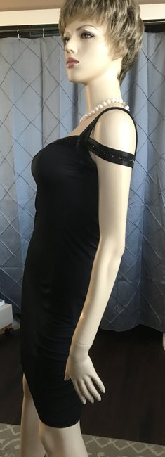 A|X Armani Exchange Beaded Fitted Dress Image 2