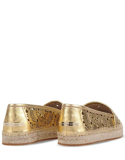 Burberry Gold Flats Image 2
