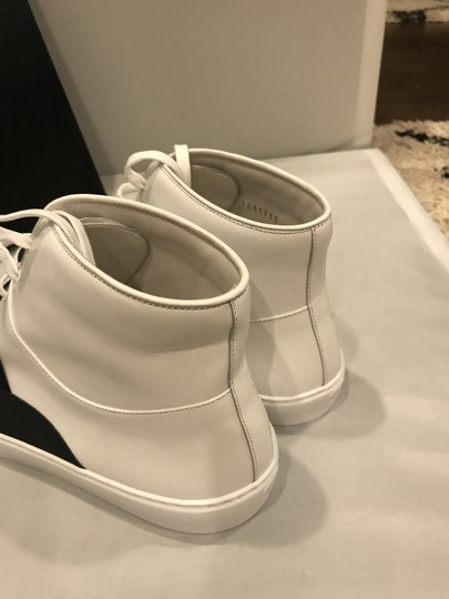 Chanel Hi Top High Top Kicks Trainers Sneakers Black/White Athletic Image 4