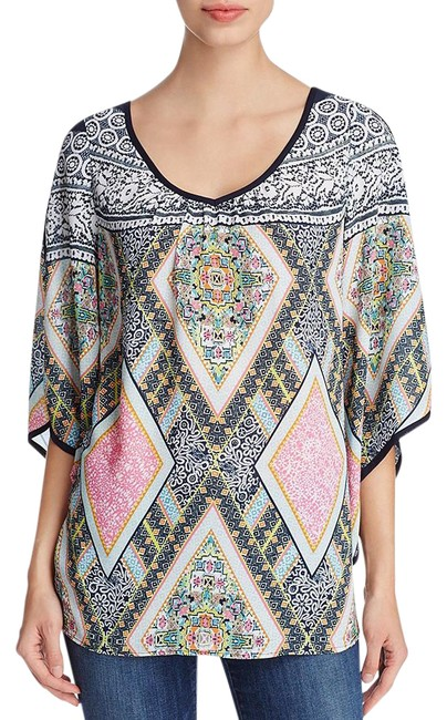 Preload https://img-static.tradesy.com/item/21820334/multicolor-women-s-printed-cold-shoulder-xl-blouse-size-16-xl-plus-0x-0-1-650-650.jpg