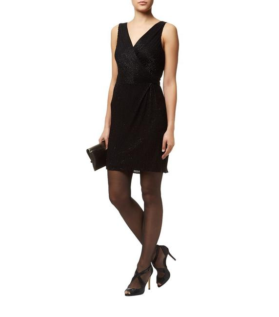 Diane von Furstenberg Beaded Embellished Night Out Dvf Dress Image 2