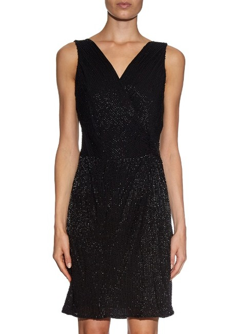 Diane von Furstenberg Beaded Embellished Night Out Dvf Dress Image 3