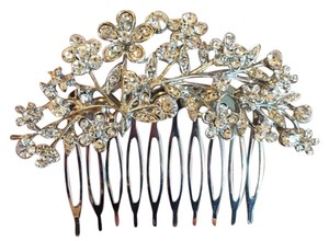 Flower Romantic Crystal Bridal Hair Comb Wedding bridal wedding jewelry new flower romantic diamonds easy crystal silver hair comb hair pins accessory prom jewelry leaf fine