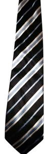 Banana Republic Men's banana republic tie purple blue stripe