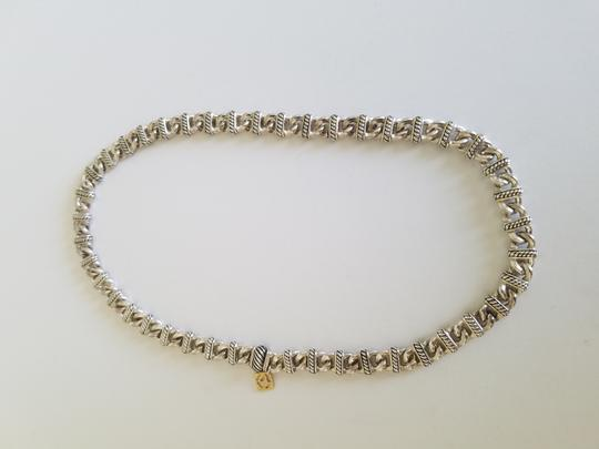 David Yurman David Yurman 18K Gold Sterling Silver Madison Chain Necklace Image 2