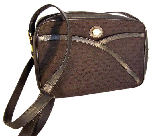 Preload https://img-static.tradesy.com/item/21820581/gucci-vintage-pursesdesigner-purses-black-canvas-with-small-g-logo-print-and-black-leather-leatherca-0-1-540-540.jpg