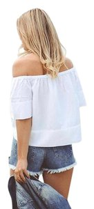 Ella Moss Top off white natural