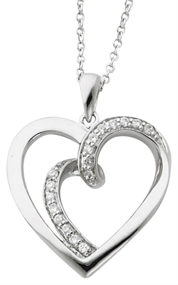 Apples of gold silver two hearts one flesh sterling heart pendant apples of gold two hearts one flesh sterling silver heart pendant aloadofball Image collections