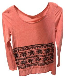 Charlotte Russe H&m Jewels Tribal Elephants Long Sleeve Sweater
