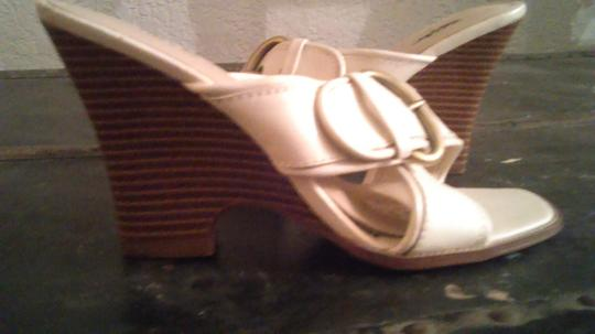 Mossimo Supply Co. White Sandals Image 3