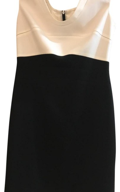 Preload https://img-static.tradesy.com/item/21821194/black-and-white-mid-length-cocktail-dress-size-8-m-0-1-650-650.jpg