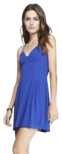 Preload https://img-static.tradesy.com/item/21821205/express-blue-strappy-short-casual-dress-size-4-s-0-3-650-650.jpg