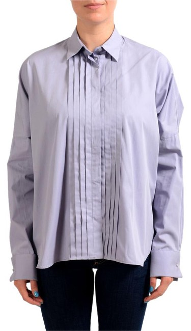 Preload https://img-static.tradesy.com/item/21821385/mm6-maison-martin-margiela-purple-women-s-button-front-shirt-blouse-size-8-m-0-1-650-650.jpg