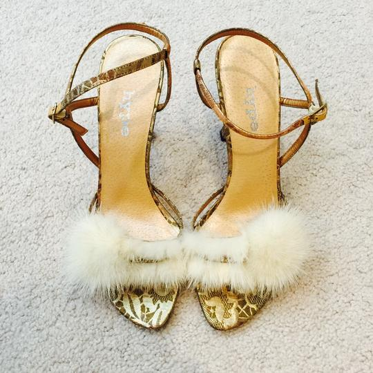 Hype High Heel gold Pumps