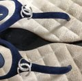 Chanel blue Sandals Image 5