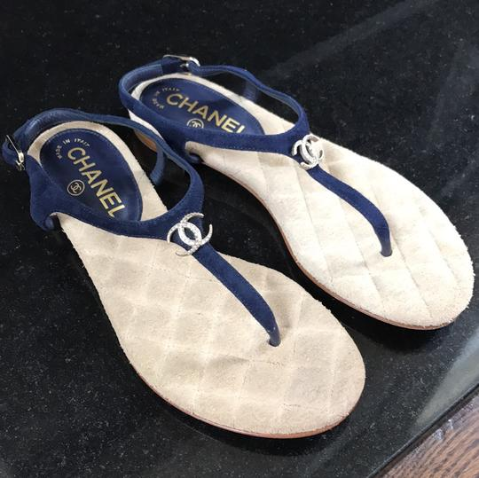 Chanel blue Sandals Image 8