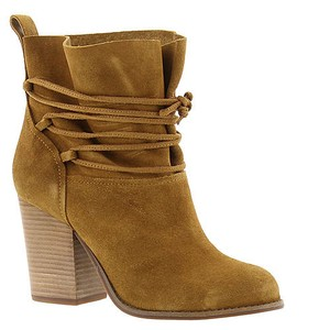 Jessica Simpson Honey Brown Suede Boots